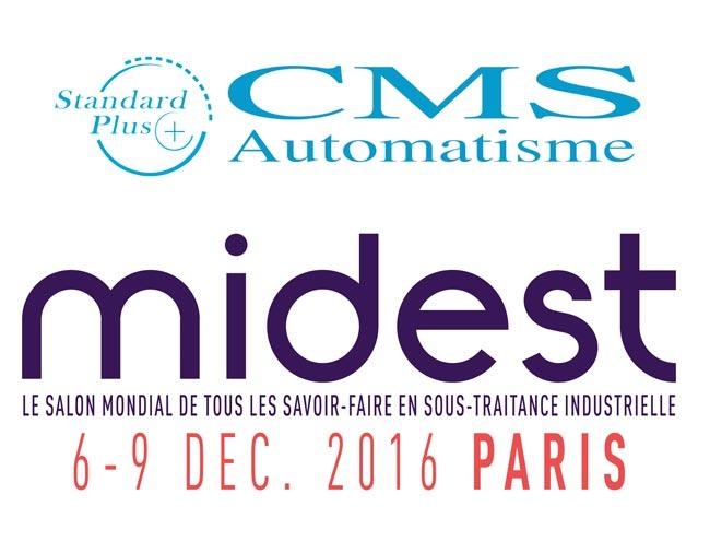 logo midest standard plus cms automatisme 2016